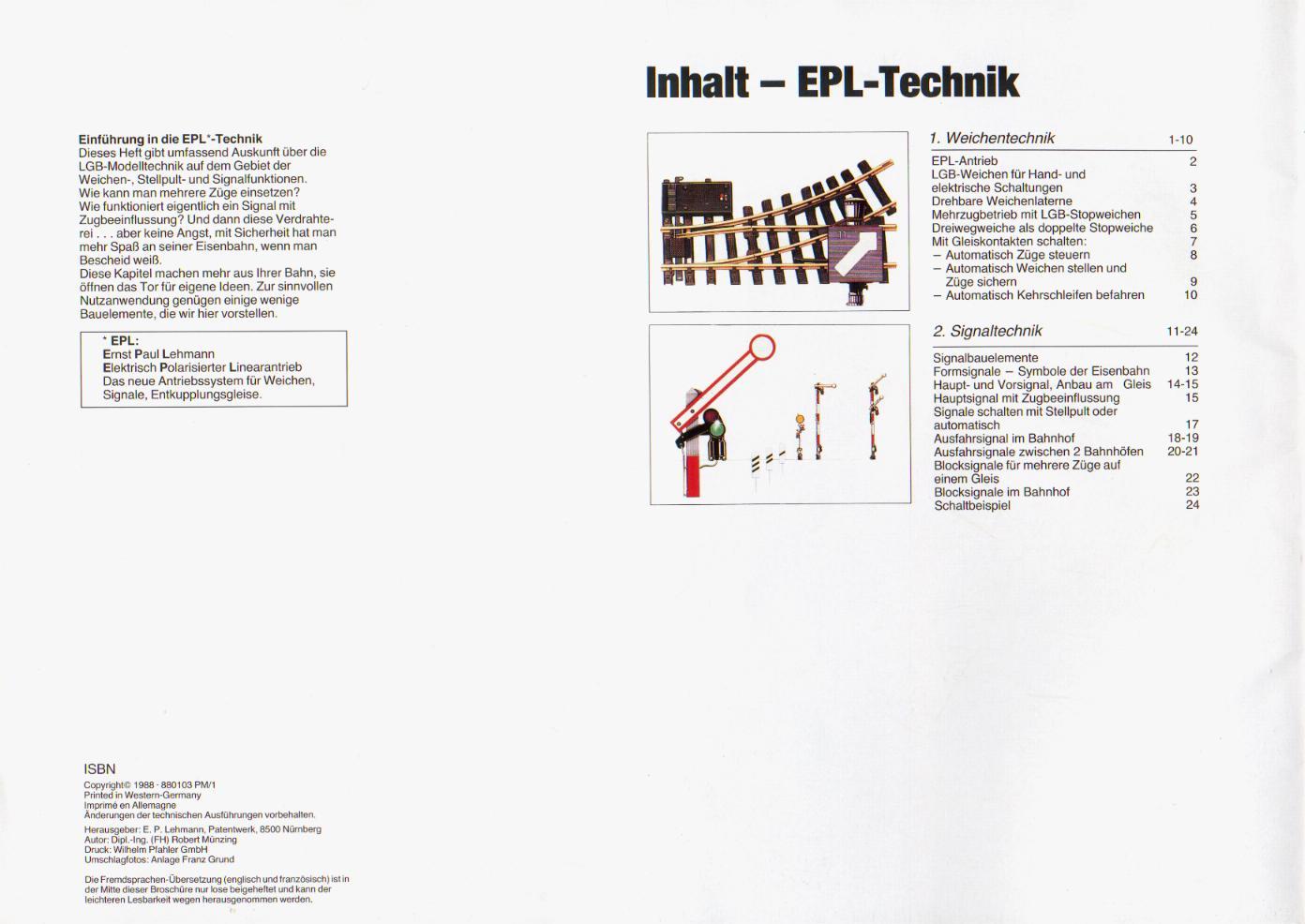 ELP Technik Weiche+Signal